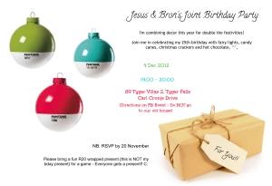 Bron Bday Invite