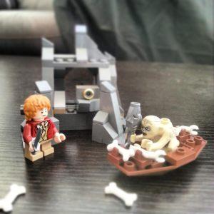 Bilbo & Gollum