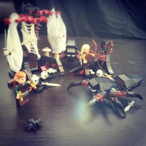 Elves, dwarves & Spiders